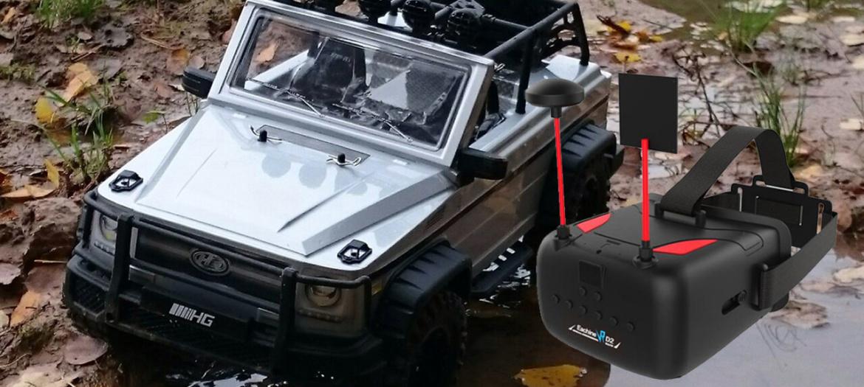 Машинки с FPV