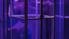 денежная стеклянная кабина с подсветкой (кэш-бокс)