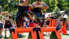 прыжковый барьер для эстафет
