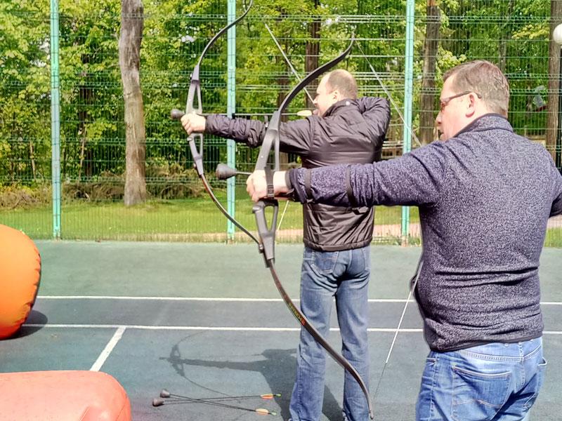 Тренировка по стрельбе из лука