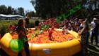 Большой, сухой бассейн