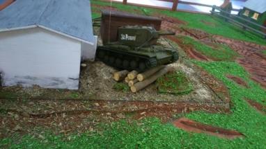 коровник и танк кв 2