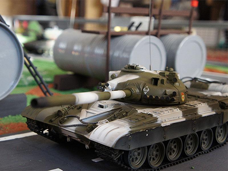 Бои на танках