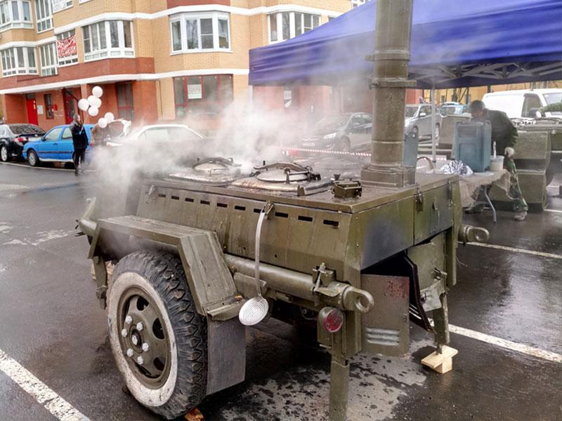 как приготовить кашу в военно-полевой кухне
