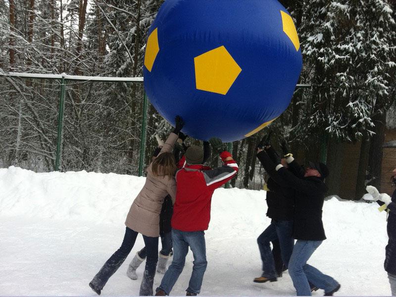 Гигантский мяч заказать в аенду