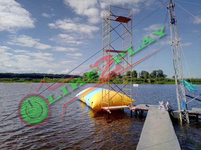 Трамплин водный для прыжков в воду