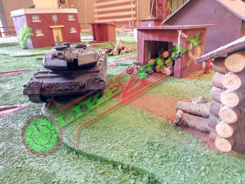 танковый бой в аренду