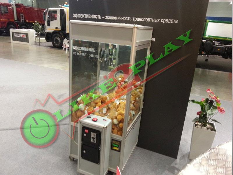Автомат с краном для игрушек,