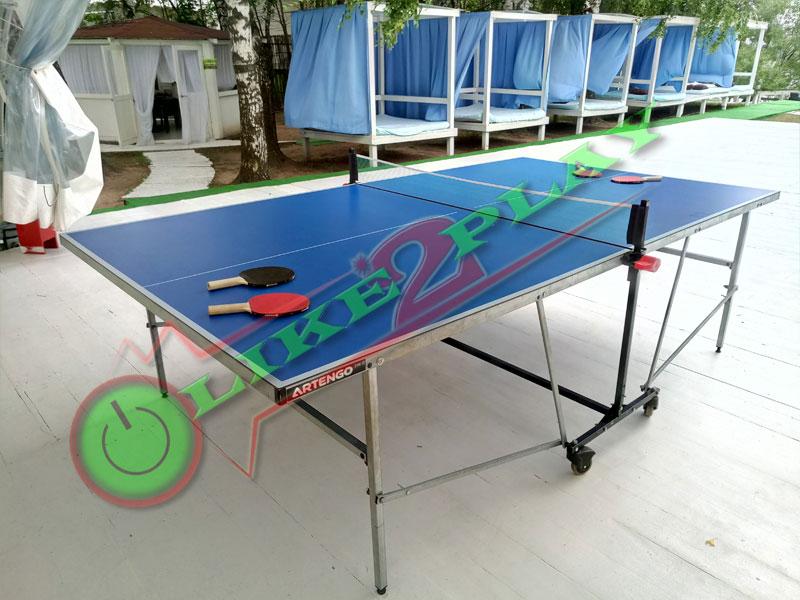 Пинг-понг играть на столе