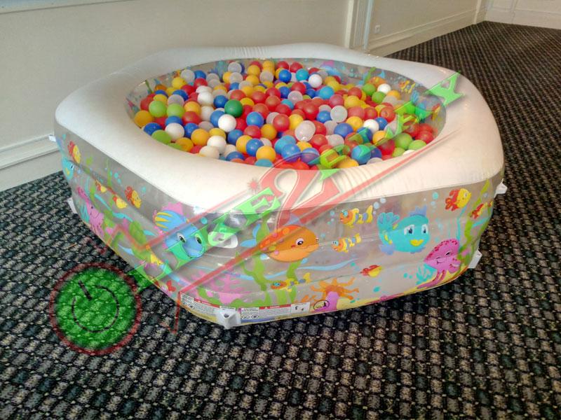 Сухой бассейн, шарики для сухого бассейна