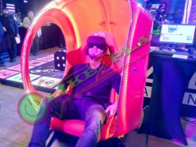 3D Очки, подвижная платформа